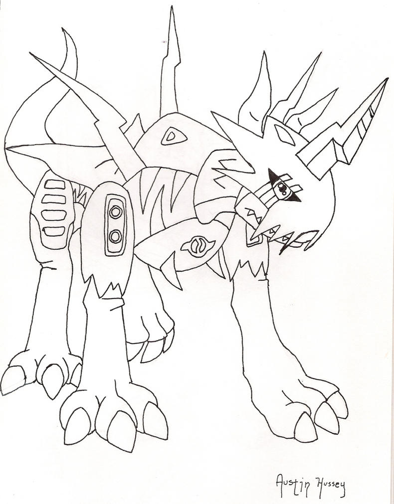 wargreymon coloring pages - magnamon coloring pages pictures to pin on pinterest