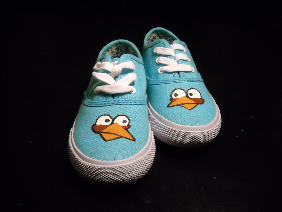 Angry Birds: Blue Shoes by WizardTypist