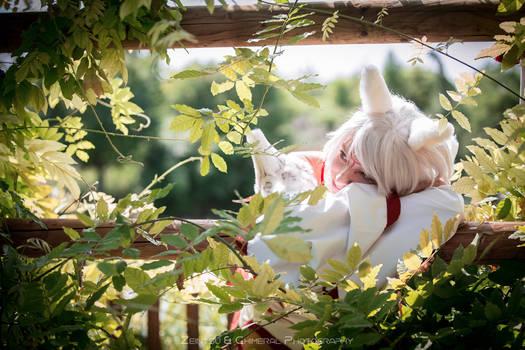 Okami Cosplay - Amaterasu sunlight
