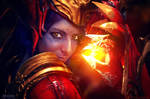 Shyvana cosplay - League of Legends 03