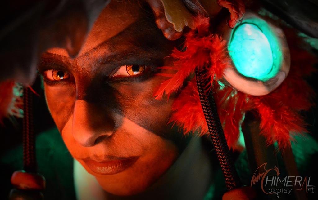 Fury cosplay HofMM6 - Make up test by Chimeral-CosplayArt