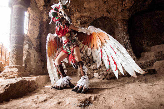 Fury cosplay - Heroes of Might and Magic VI
