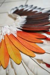 Foam feather (handmade) by Chimeral-CosplayArt