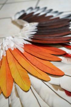 Foam feather (handmade)