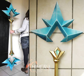 Ice Lux cosplay staff - league of legends by Chimeral-CosplayArt