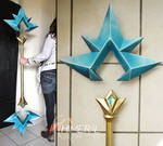 Ice Lux cosplay staff - league of legends