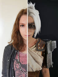 Cosplay VS Cosplayer - Riven League of Legends
