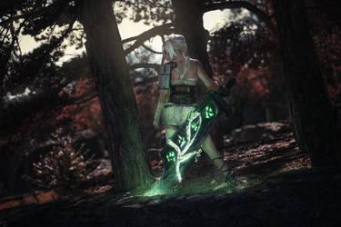 Riven cosplay - League of Legends (Awaken)