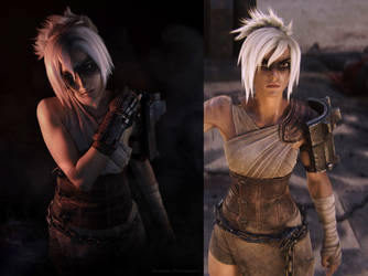 Cosplay VS Character - Riven League of Legends