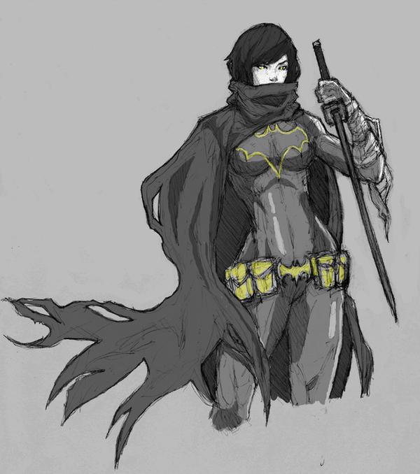 BlackBat by dorkynoodle