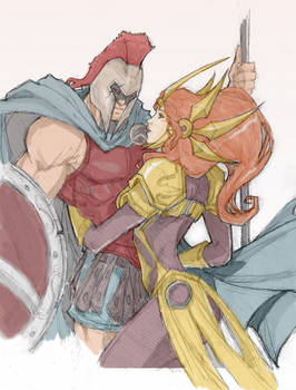 Pantheon and Leona