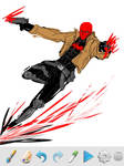 Red Hood iphone doodle