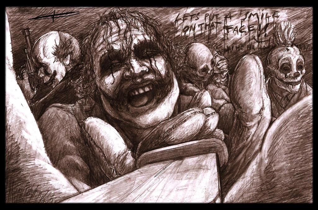 The Joker: Smile. by deviantetienne