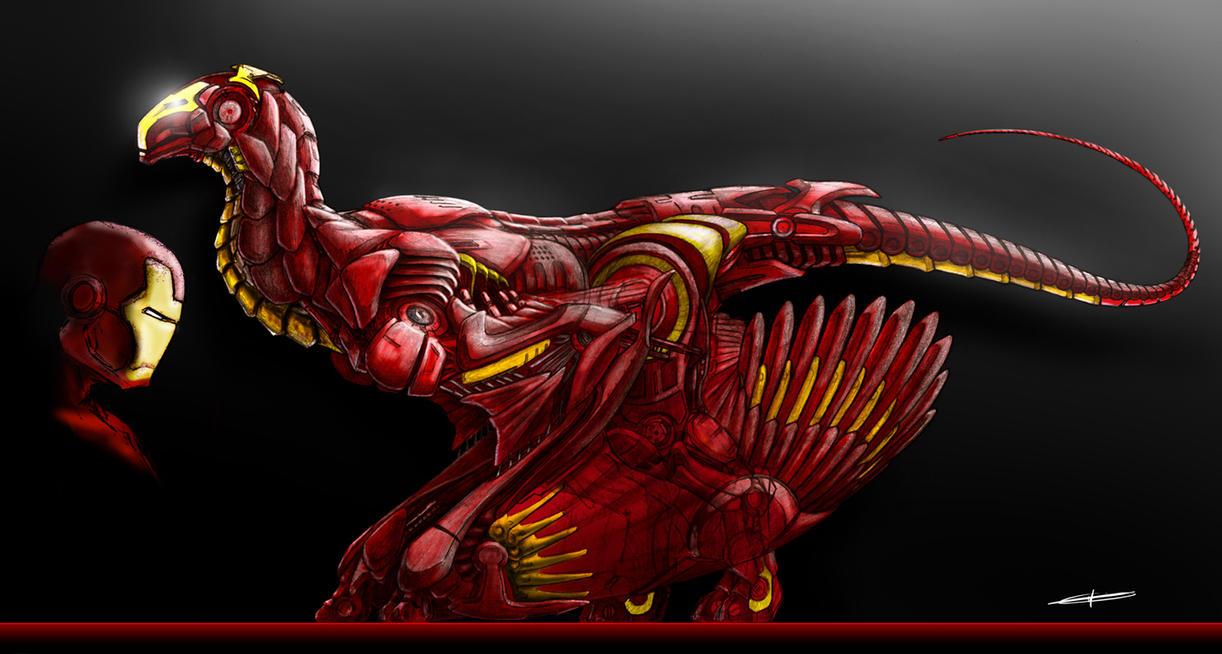 Iron Dragon by deviantetienne