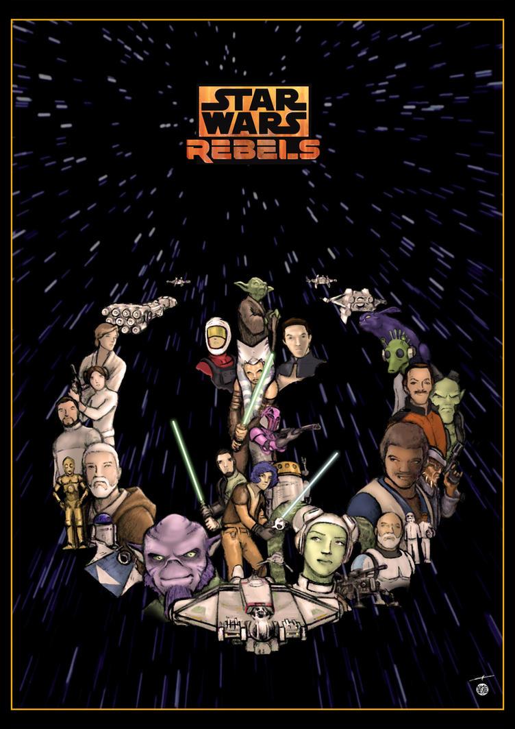 Star Wars Rebels by deviantetienne