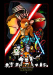Star Wars - Walt Disney - The Force Awakens