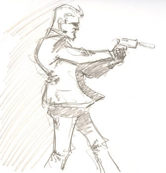 Secret Agent Mann by timmytom