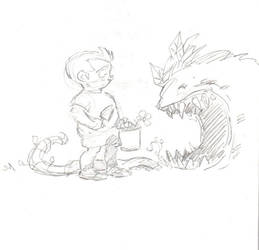 Garden Variety Monster by timmytom