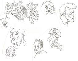 Blog Sketches by timmytom