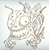 Psycho Bee by timmytom