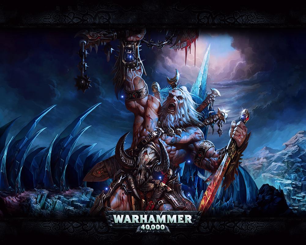 Warhammer Wallpaper by Loupu