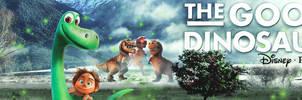 The Good Dinosaur - Disney Pixar By Dreamvisions86
