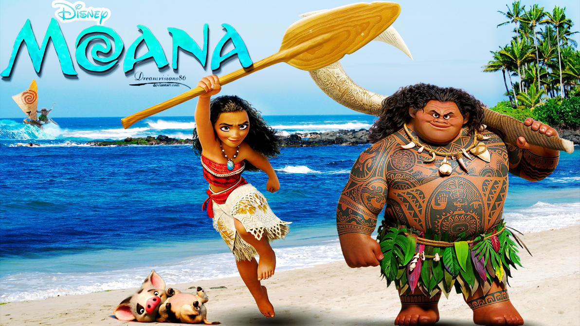 Image Result For Free Moana Coloring