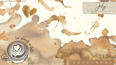 Coffee Rainmeter by caffinatedpanda