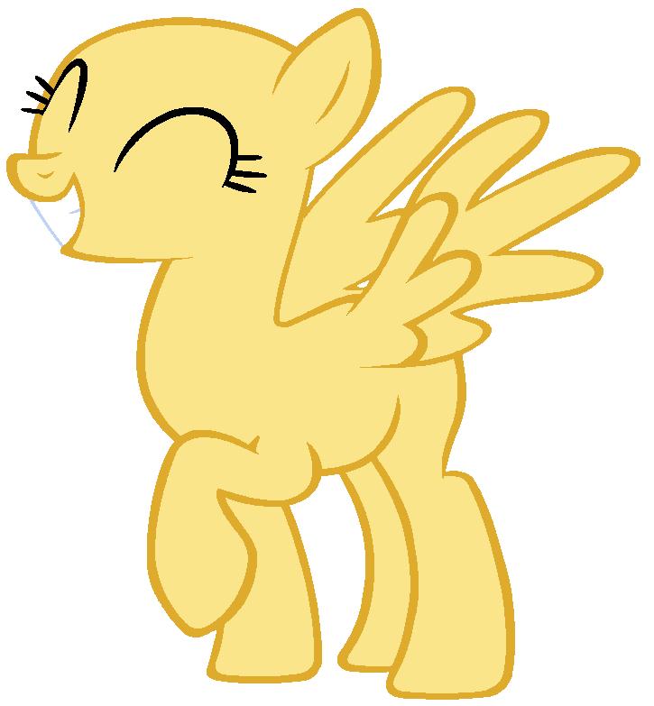 My Little Pony Base #8 [Happy Pegasus] by DrugzRbad