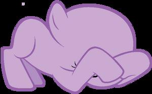 My Little Pony Base #14 [Peek-a-boo] by DrugzRbad