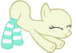 My Little Pony Base #27 [Stretching in Socks]