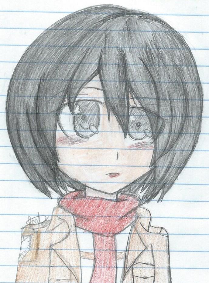 Mikasa es su casa by Amyrose27 on DeviantArt