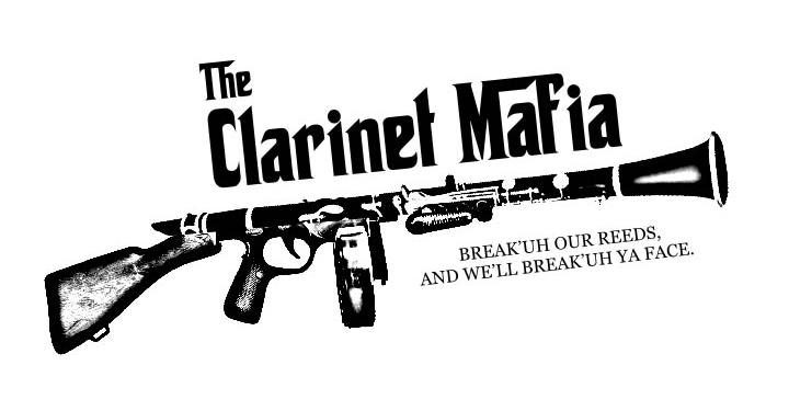 Clarinet Mafia 2011 2012 T Shirt Design By Missetc On