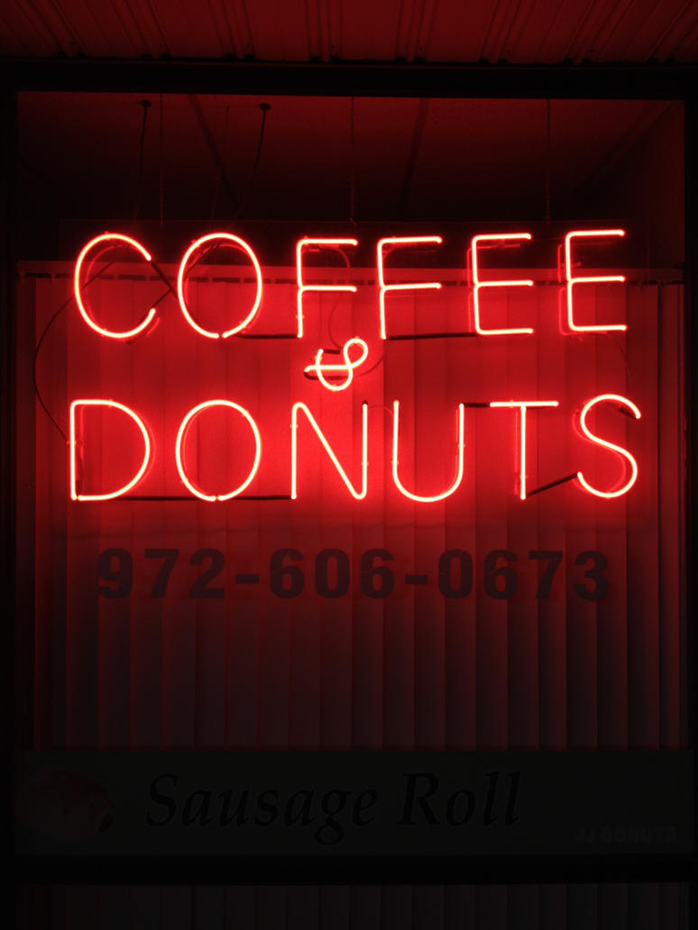 Coffee and Donuts by missetc on deviantART