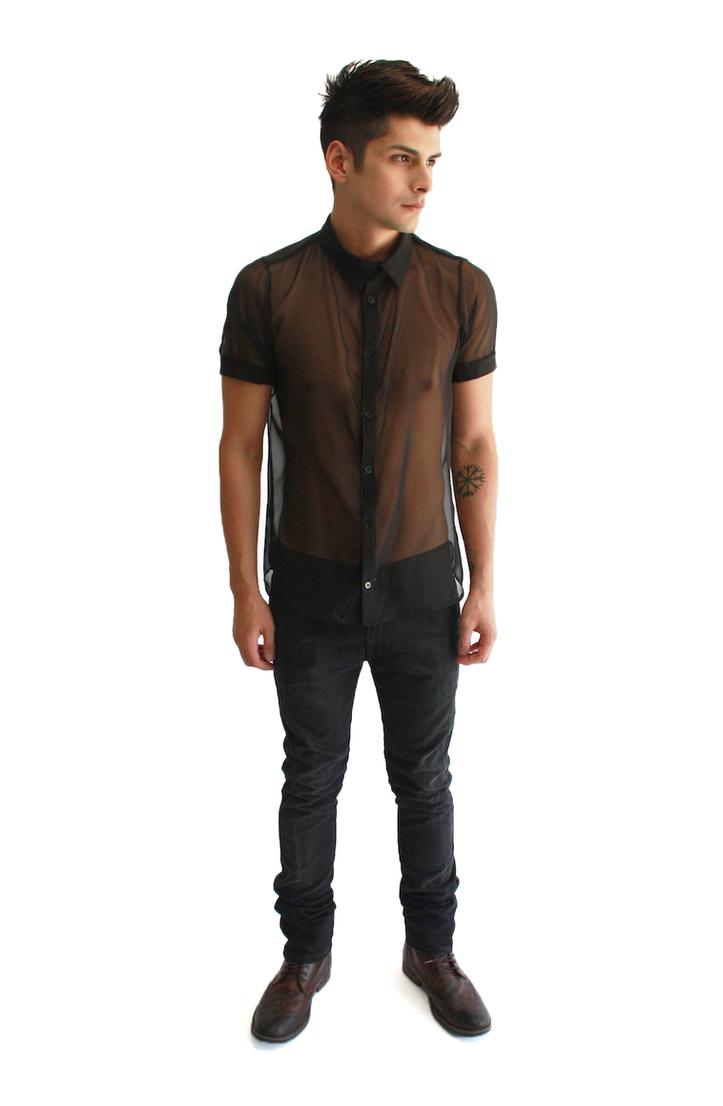 Black T Shirt Mens Fashion