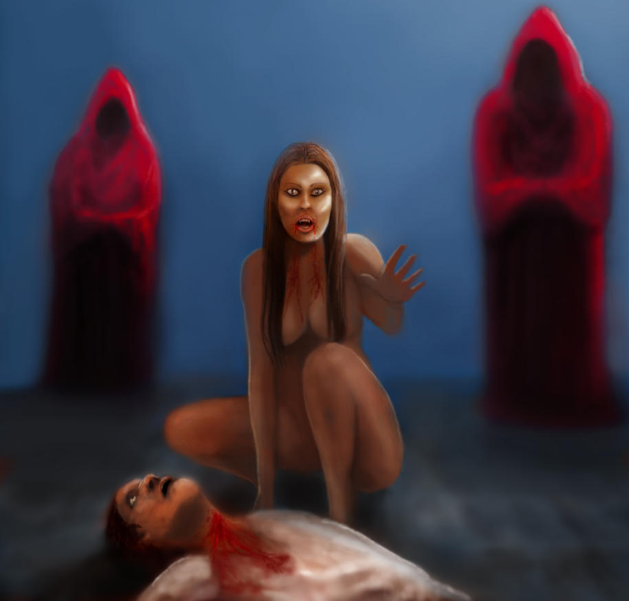 Blood by Gixajin