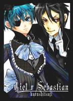Ciel x Sebastian by Lollipop-Kizz