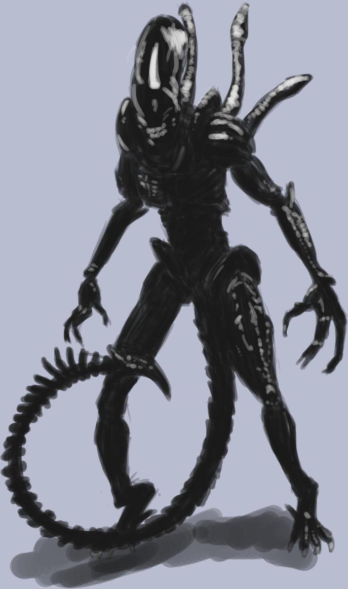 Alien by Saitz