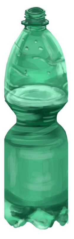 my water bottle by Saitz