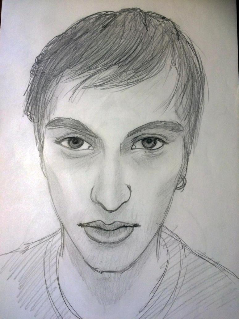 Self Portrait by Saitz