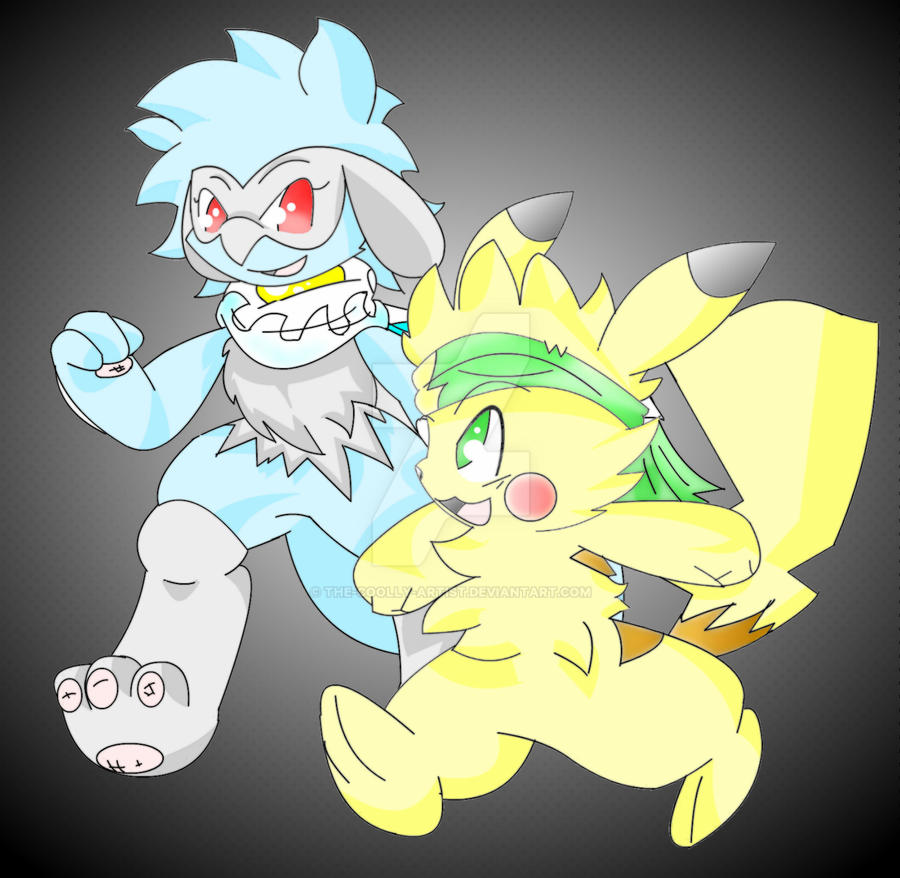 Zandey And Zeke Gen Friends by Sonic201000