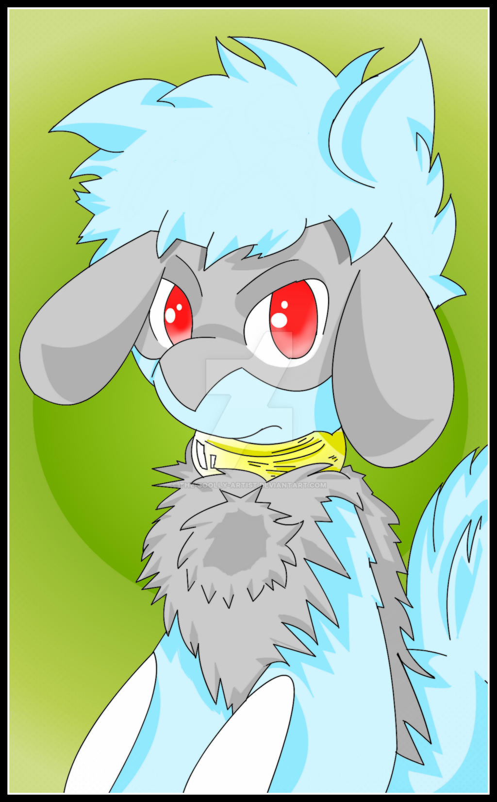 Tony The Furry Riolu The Digital Drawing by Sonic201000