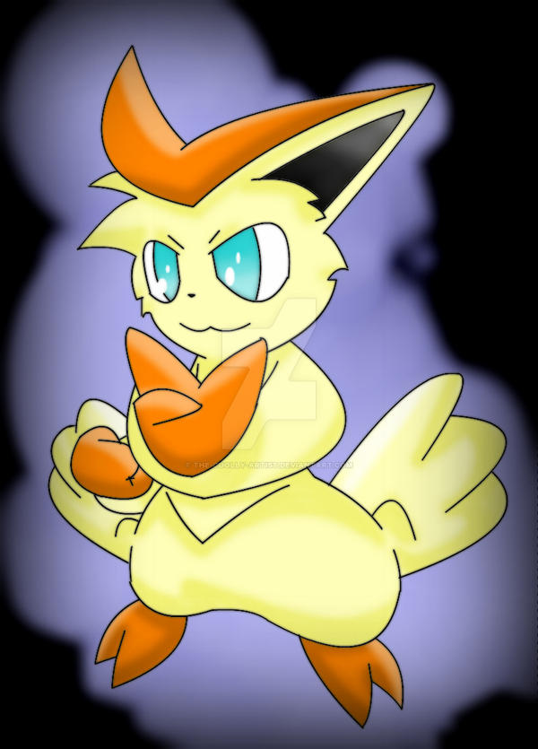 Victini Guild Master In Hope In Friends by Sonic201000