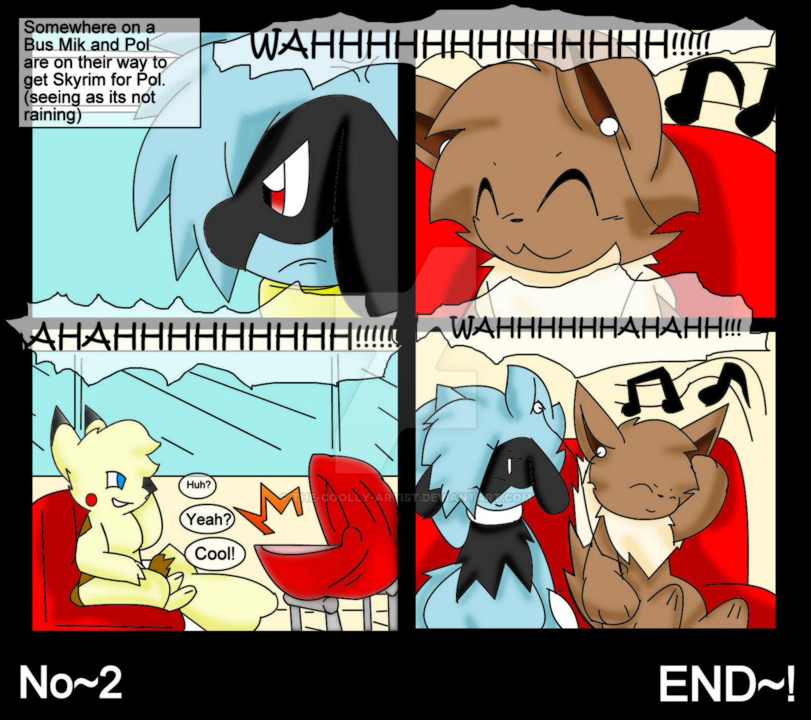 Mik And Pol Comic No 2 Doing Nothing by Sonic201000