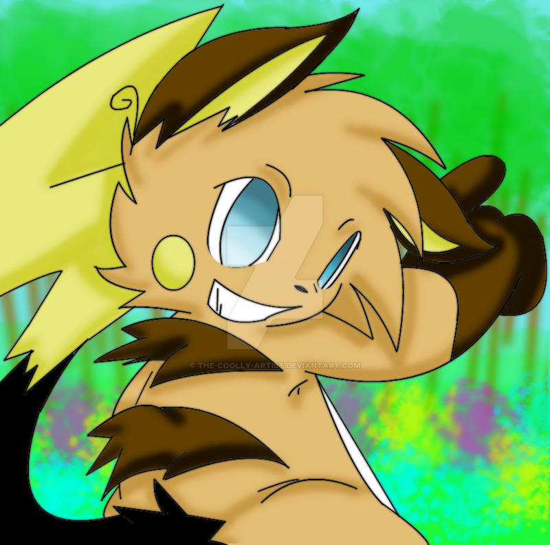 Neon The Raichu by Sonic201000