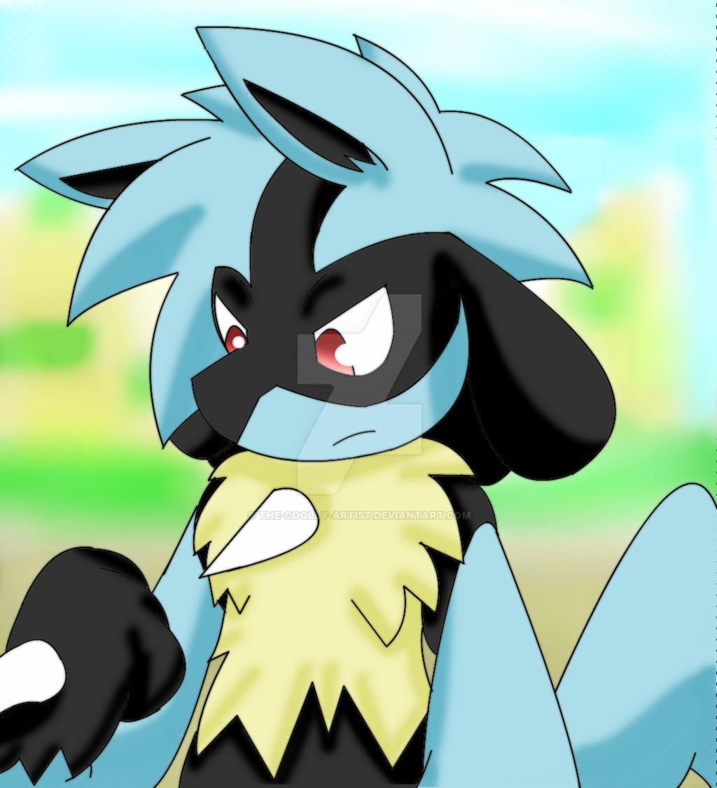 Zander The Lucario by Sonic201000