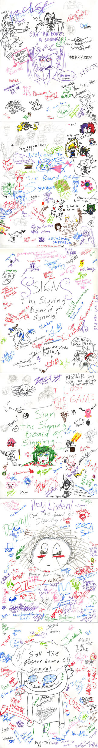 Signing Board NoBrandCon 2011 by ZiBaricon