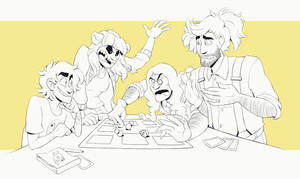 COMMISSION: Double Date
