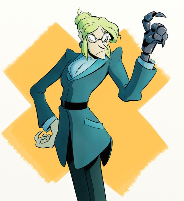 Dr. Cheryl Lutetium by ZiBaricon