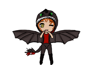 [OCA Event: Halloween] ~NIGHTFURY! GET DOWN!~